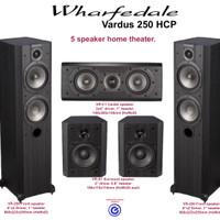 Jual Wharfedale Vardus 250 paket 5 speaker home theater sln Q jbl Yamaha Murah