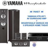 Jual Paket Yamaha Wharfedale home theater 5 speaker sln jbl Q denon Murah