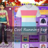 Kaos Ayodance Way Cool Running top Shirt