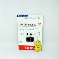 Jual sandisk usb flash drive otg 32 gb original Murah
