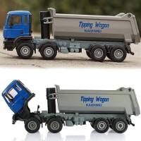 harga Diecast Miniatur Alat Berat Dump Truck Biru Tokopedia.com