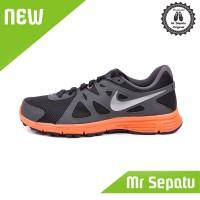 Diskon Sepatu Running Original Nike Revolution 2 MSL Grey Orange BNWB