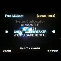 MC BOOT + Ulaunch + Codebreaker (Memory Card / MCBOOT Multi / MMC PS2)