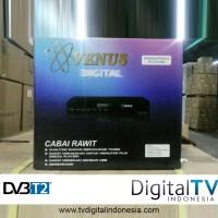 Jual Set Top Box DVB T2 Venus Cabai Rawit + HDMI TV Digital Indonesia Murah