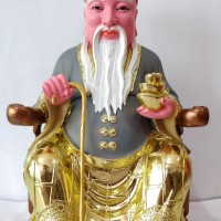 Patung Datuk Datok Latok Na Tok Gong 16 Inchi Fiber