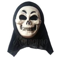 Creepy Skull Mask - Topeng Halloween | Topeng Tengkorak