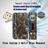 Garskin Vapor Smoant Charon TC218/Adjustable Motif city