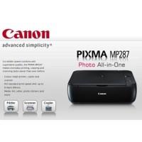 Printer Canon MP287 3in1 (Print,Scan, Copy) Kondisi Baru