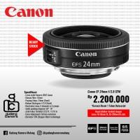[NEW] Canon EFS 24mm f/2.8 STM @Gudang Kamera Malang