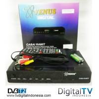 Jual Set Top Box DVB T2 Venus Cabai Rawit TV Digital Tanpa Biaya Bulanan Murah