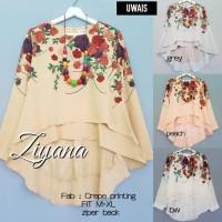 Baju Atasan Wanita Muslim Blouse Ziyana