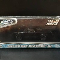 Greenlight, DOM 1987 BUICK GRAND NATIONAL GNX Fast and Furious