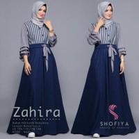 Gamis long dress terbaik muslimah model terbafu harga terumah