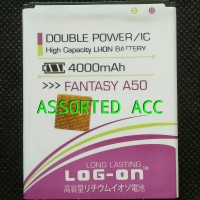 BATERAI/BATTERY LOG ON DOUBLE POWER MITO FANTASY A50(BA-00046)