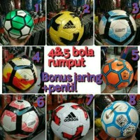 Bola Sepak / Soccer Ball Nike Menor Hijau Size 5 Lapangan Rumput - LC