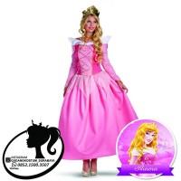 Sewa Kostum aurora dewasa princess disney import