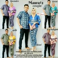 baju couple maura batik kebaya unik modern modis lucu