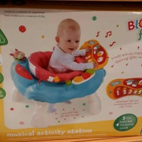 elc musical activity station / baby walker blossom farm baru ori murah