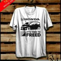 Harga kaos otomotif honda it s time to freed | Pembandingharga.com