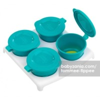 Tommee Tippee Freezer Pots 4 Pot  1 Tray T2909
