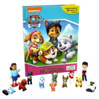 My Busy Book Paw Patrol (NEW) includes a Storybook, 12 Toy Figurines