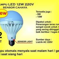 Jual Lampu LED 12 Watt 220V Sensor Cahaya Murah