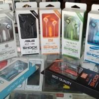 earphone headset shock BST I 86 MERK-ASUS-XIAOMI-VIVO-SAMSUNG- Murah