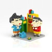 L6277 Loz Lego Nano Block Shinchan 9465 KODE PL6277
