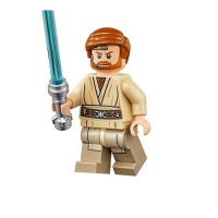 Jual Minifigure Minifig Star Wars Jedi General Obiwan Kenobi Episode 3 Murah