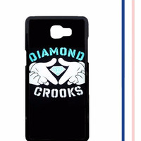 Casing HARDCASE untuk hp Samsung Galaxy A9 2016  A9 PRO Diamond Crooks