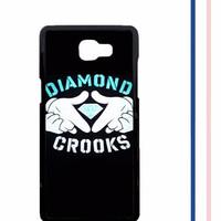 Casing HARDCASE untuk hp Samsung Galaxy A9 2016  A9 PRO Diamond Crooks