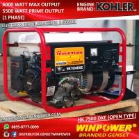 Genset / Generator Kohler 6000 Watt, Electric Starter (HK7500DXE)