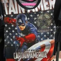 Jual Baju Kaos Tshirt Anak Captain America 2 Furo Murah