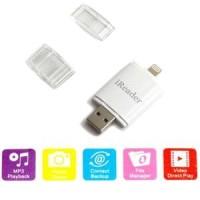 Jual iReader Lightning Card Reader TF Card and Micro SD Slot Diskon Murah
