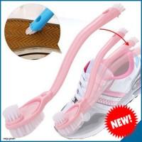 Jual LIMITED EDITION Sikat Pembersih Sepatu Triple Bulu TERMURAH Murah