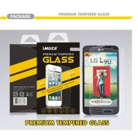 LG L90 D405 Single Sim Premium Tempered Glass Screen Protector layar