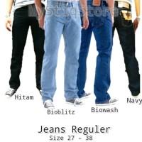 Jual Celana Jeans Pria Reguler Celana Panjang  Levis Wrangler  Murah