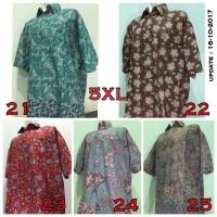 Jual Kemeja Pria Batik Jumbo Besar Ukuran 5XL (Seri 5) Murah