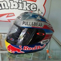 helm fullface INK CL MAC repaint SHOEI