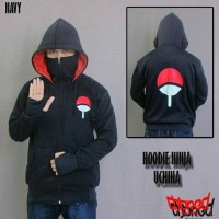 harga Jaket Ninja Naruto Clan Uchiha Hitam Tokopedia.com