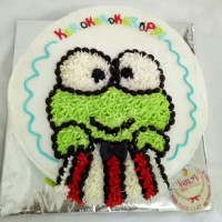 Kue Tart Ulang Tahun Anak Lucu Keroppi - Birthday Cake Malang
