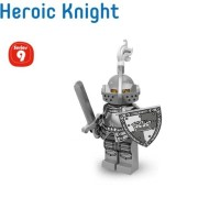New Lego Minifigures Series 9 Heroic Knight