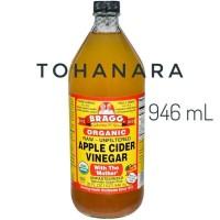 Jual Bragg Apple Cider Vinegar 946ml (Bubble + Packing Kayu) Murah