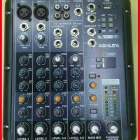 mixer Audio ashley SMR 6 Mixer 6 Channel dsp 99 original