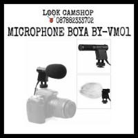 MICROPHONE MIC BOYA BY-VM01 BY VM 01 FOR DSLR SLR CAMCORDER HANDYCAM
