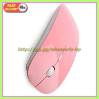 Wireless Mouse Pink Model Mouse Apple Ok Buat Mouse Gaming, Mouse Game