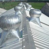 "Cyclone ventilator turbine 42"" Stainless steel teknologi jepang"
