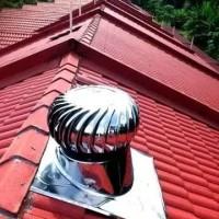 """Cyclone Turbine ventilator 30"""" aluminium teknologi Jepang"""