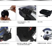 BT Motorcycle Helmet Interphone 1200M Intercom Headset V6 12