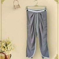 Celana Bawahan  [Greynie pants FT] celana wanita spandek abu abu